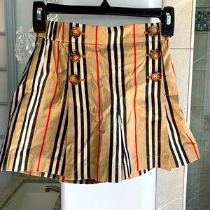 BURBERRY Tamara Icon Stripe Sailor Shorts